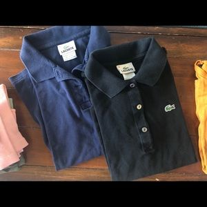 Lacoste Classic Polos Size 38
